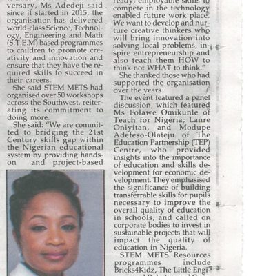 We Have Trained 7,000 Learners in Five Years'