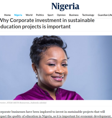 Why Corporate Investment in Sustainable Education Projects is Important